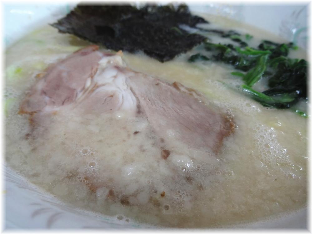 辰巳屋 塩とんこつラーメンのスープ