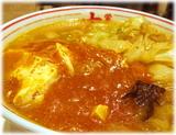 蒙古タンメン中本 蒙古タンメンのスープ