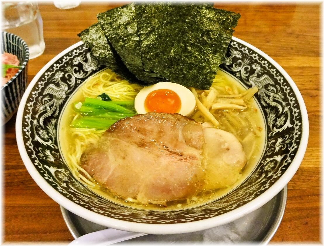 中村屋海老名本店 中村屋らーめん(塩)