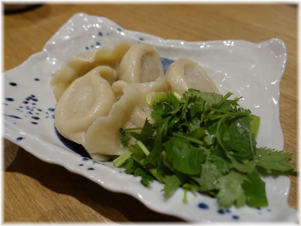 辰池袋南口店 ラム肉水餃子