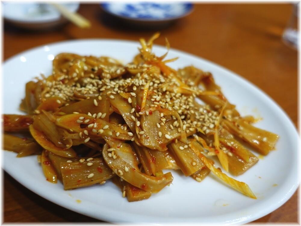 中華料理十八番 ピリ辛ネギメンマ