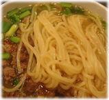 世界のやまちゃん 台湾ラーメンの麺