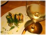 らぁ麺トラットリア Due Italian サーモンとアボガドの生春巻