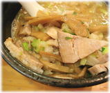 大井町らーめん 特製つけ麺の具