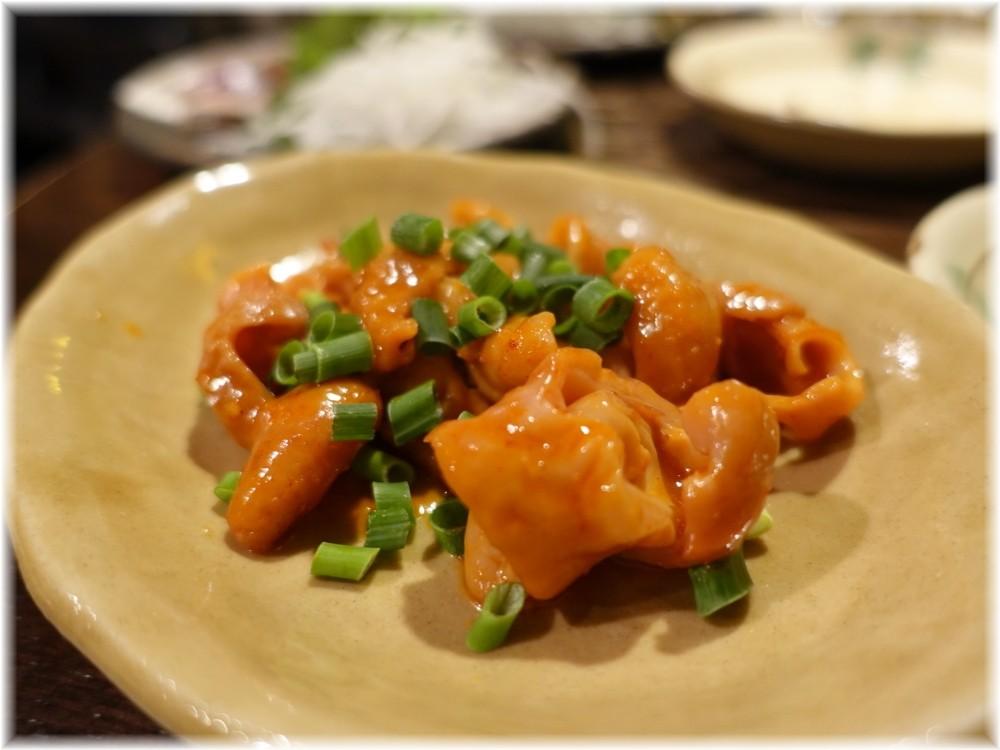 金町製麺9 もつ炒め