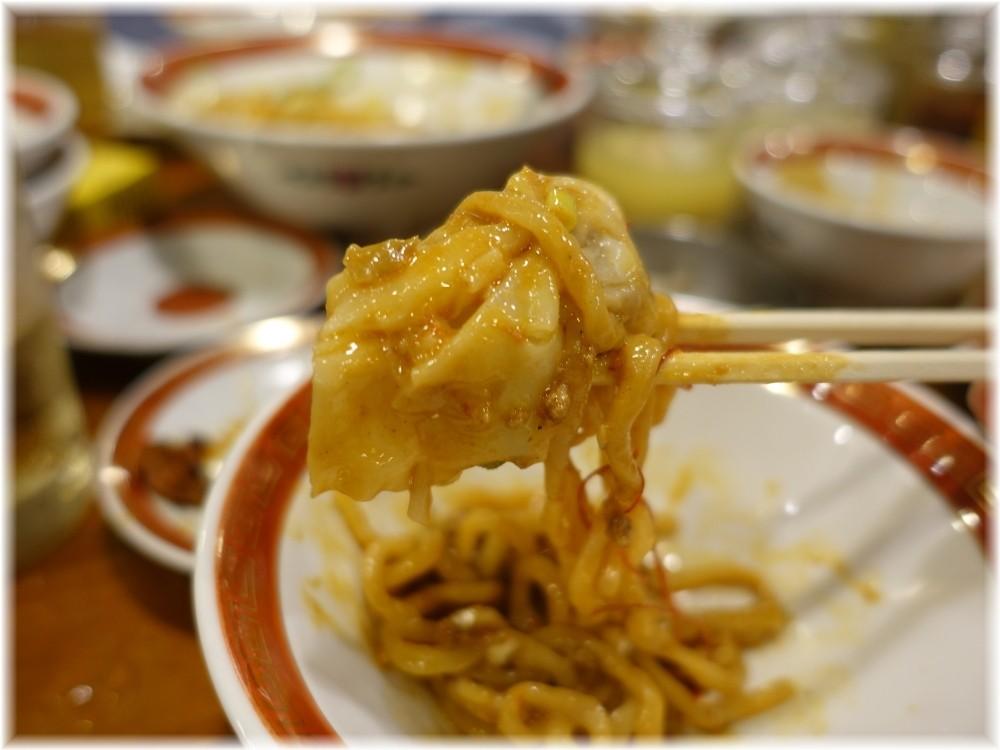 広州市場五反田店 雲呑入り汁なし担々麺のワンタン