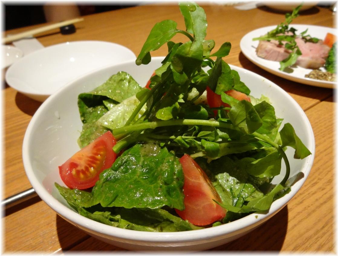 Gracia バジルソースのサラダ