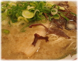 博多だるま ラーメンのスープ