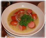 ヌードル&バーしろくま トンコツスープのボイルドソーセージ