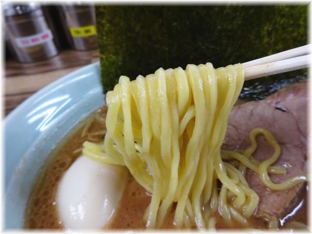 武源家 半熟味玉ラーメン(並)の麺