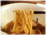 月島ロック ラーメンの麺