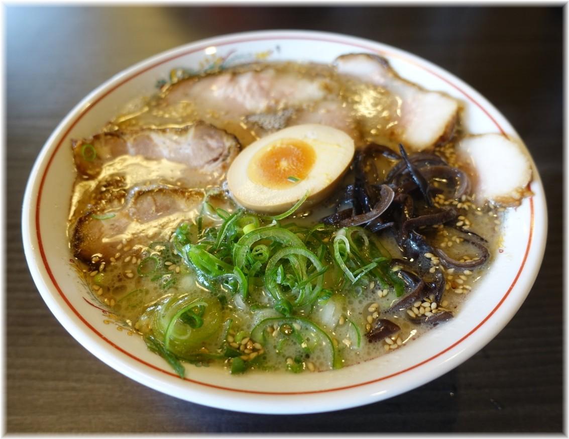 ラーメン育元吉見店 久留米チャーシュー麺