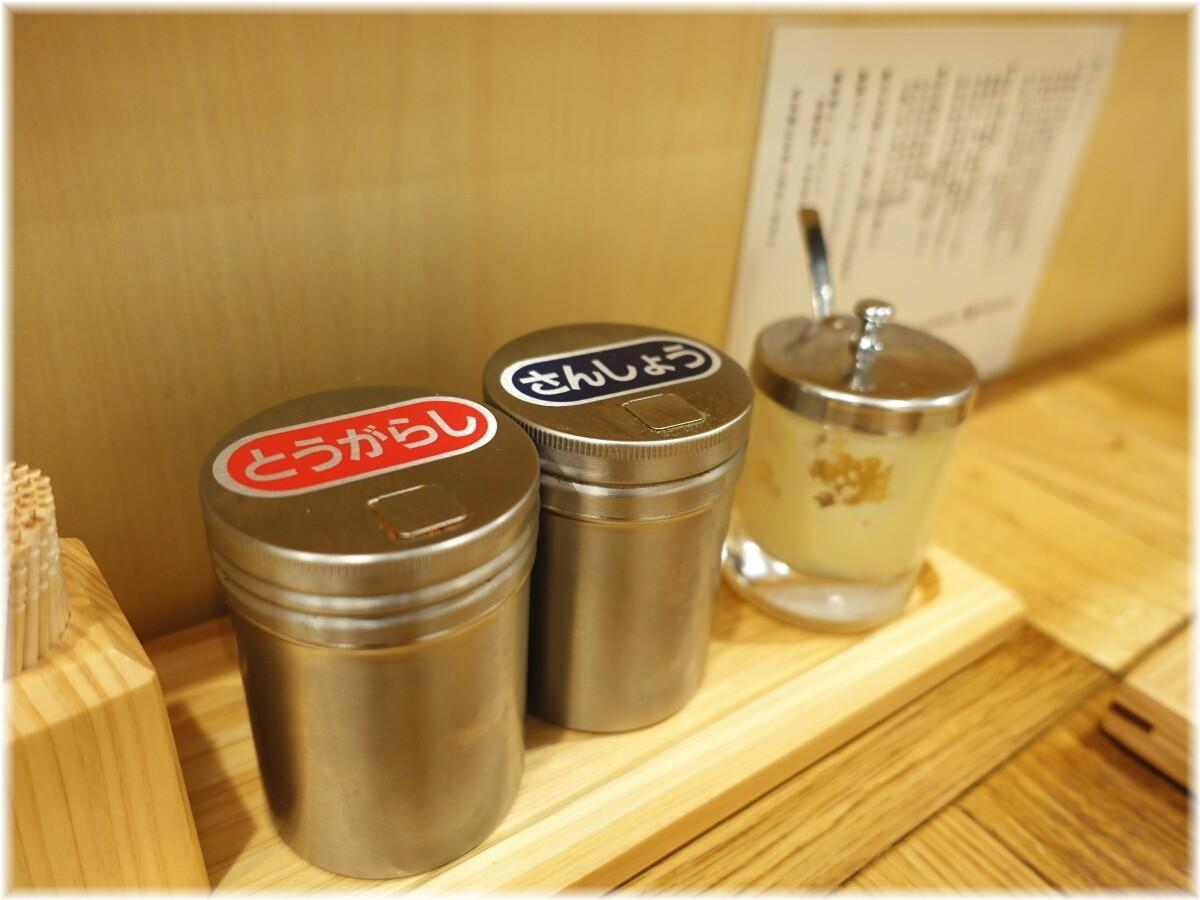 柿田川ひばり 卓上の調味料