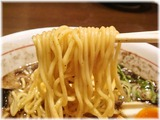 清正 熊本味玉ラーメン(黒)の麺