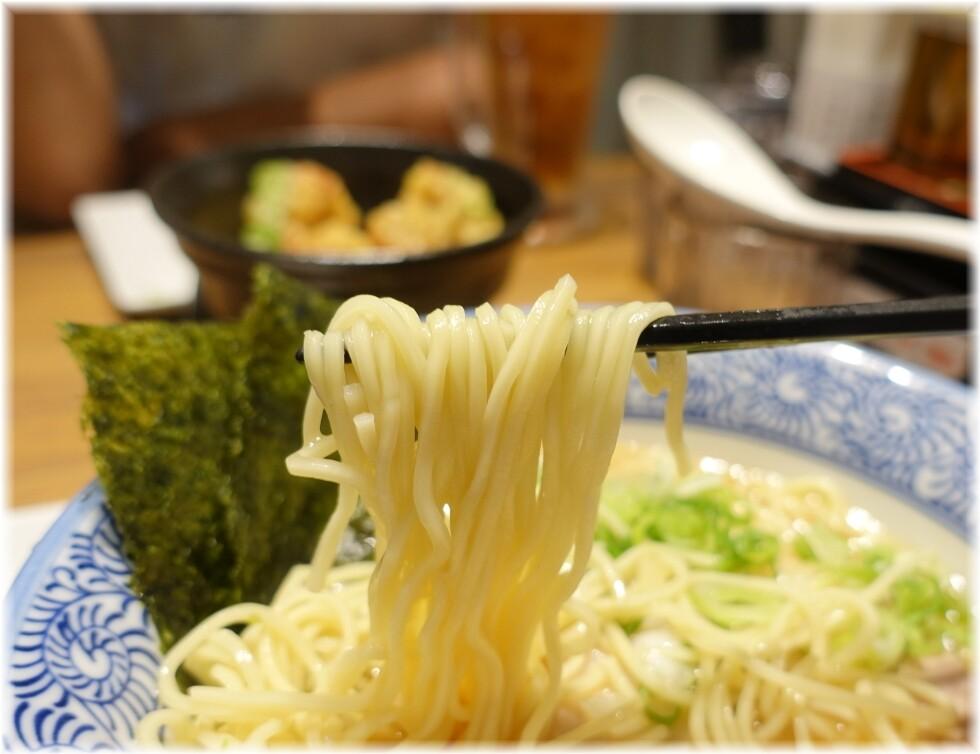 海岑2 煮干し中華そばの麺