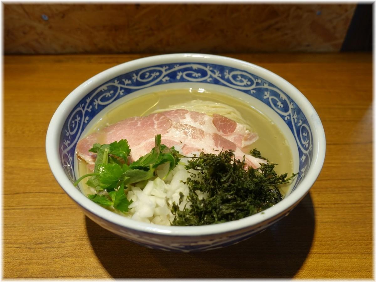 寿製麺よしかわ6 濃い冷やし煮干しそば