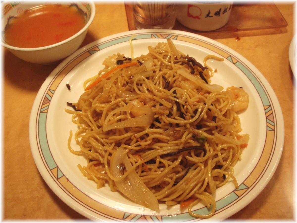 大明担担麺 箱崎店 什錦炒麺(五目焼きそば)