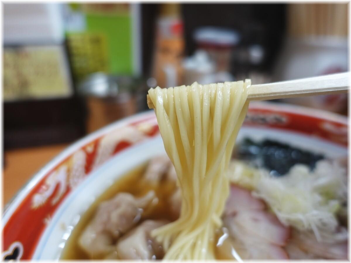 かづ屋 チャーシューワンタンメンの麺