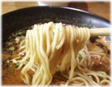 なんつッ亭 辛味噌らーめん猛烈タンメン鼻血ブ〜の麺