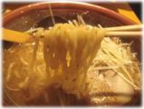 むてっぽう 醤油ラーメンの麺