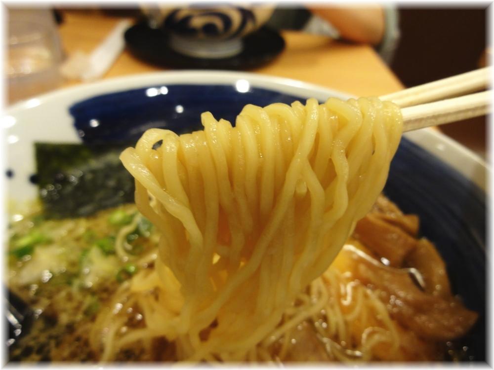 麺処直久 コク旨醤油らーめんの麺