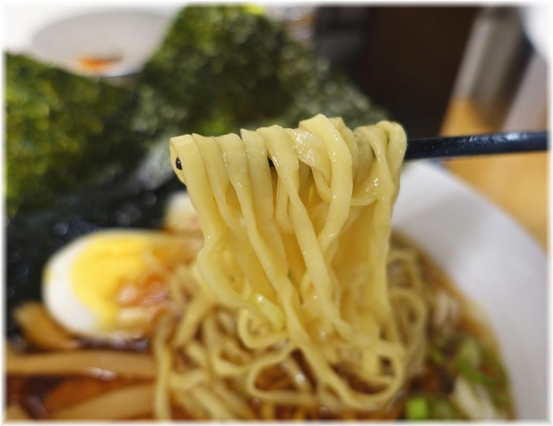 駅そば(大宮駅) 佐野ラーメンの麺
