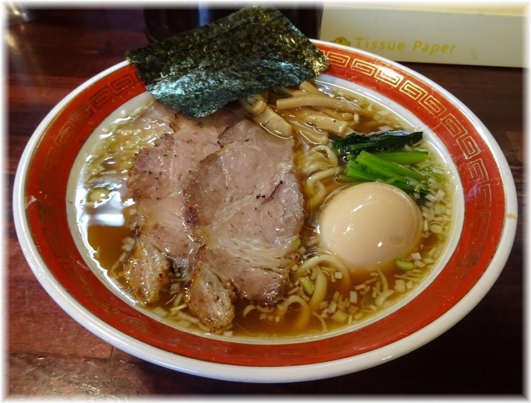 麺処懐や 特しょうゆ(平打)