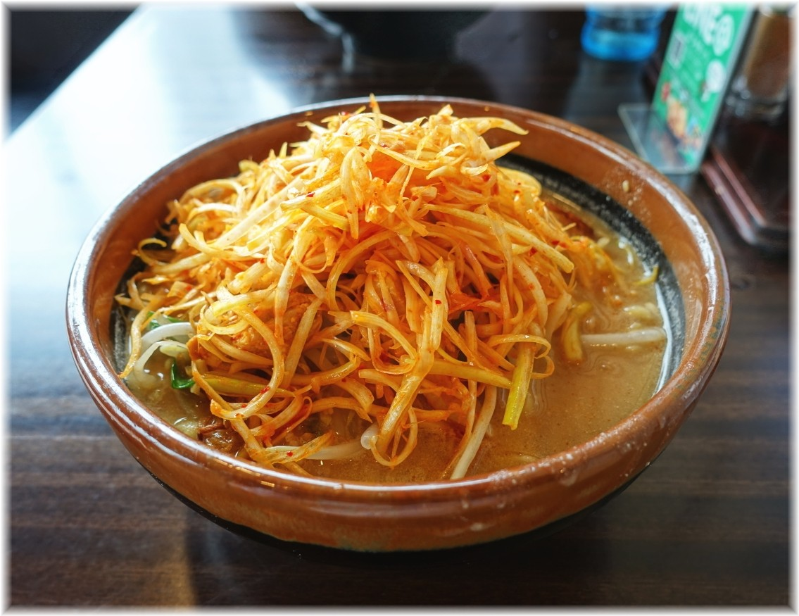 田所商店桶川店 肉ネギラーメン(北海道味噌)