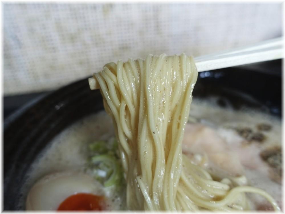 アワトロ龍宮 アワニボの麺