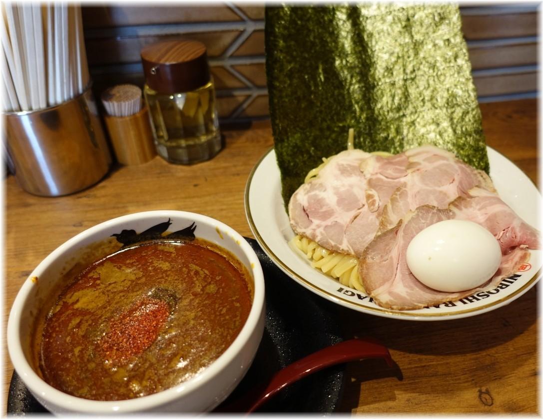凪大宮南銀通り店 特製辛い煮干つけめん