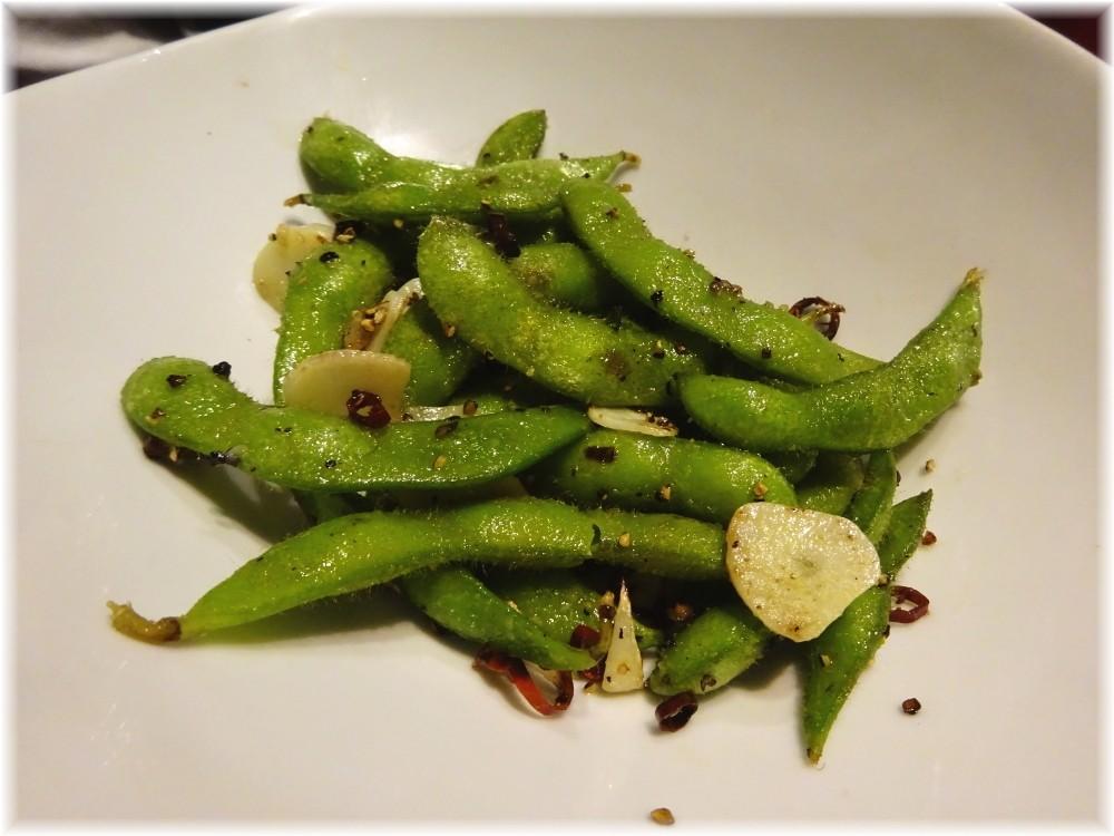 玲音 枝豆のペペロンチーノ
