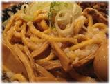 平太周味庵 爆盛油脂麺の極太麺