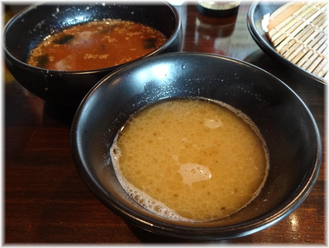 じぱんぐ 海老ざる拉麺の割りスープ