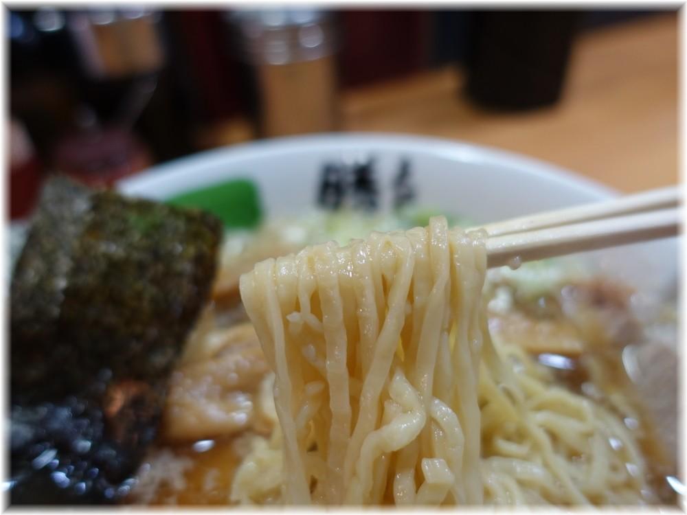 勝丸 特上焼豚(ミックス)の麺