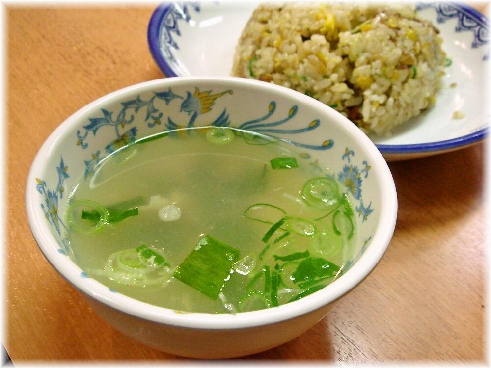 元祖赤のれん節ちゃんラーメン 焼めしのスープ