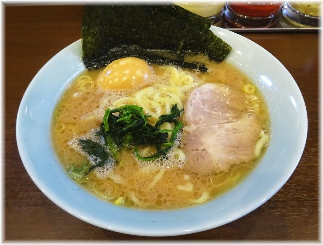 寿々喜家曙町店 ラーメン並+味玉