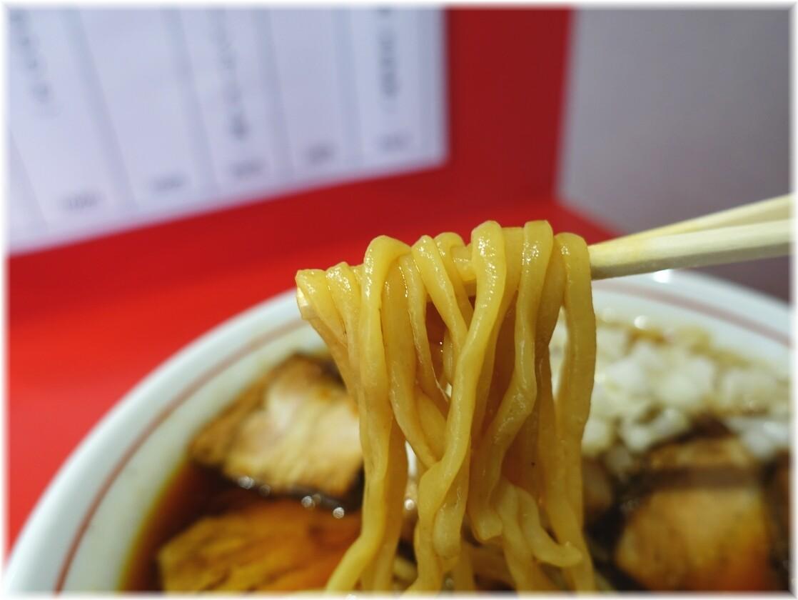 竹岡式ラーメン世良 竹岡式ラーメン(並)の麺