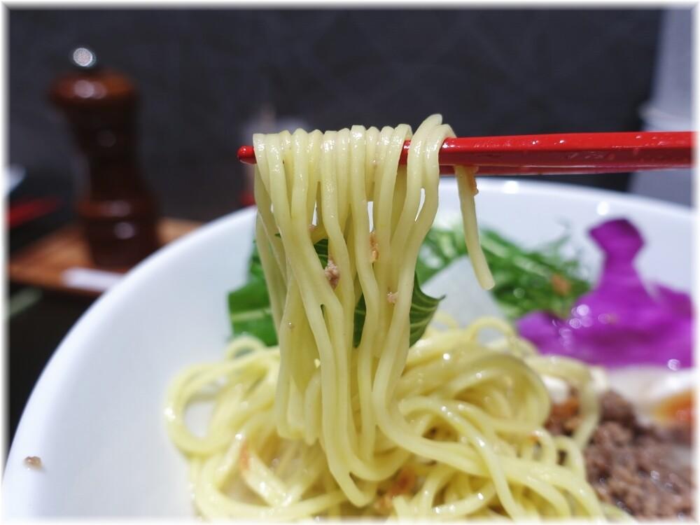 拉麺五瞭5 牛骨白湯の麺