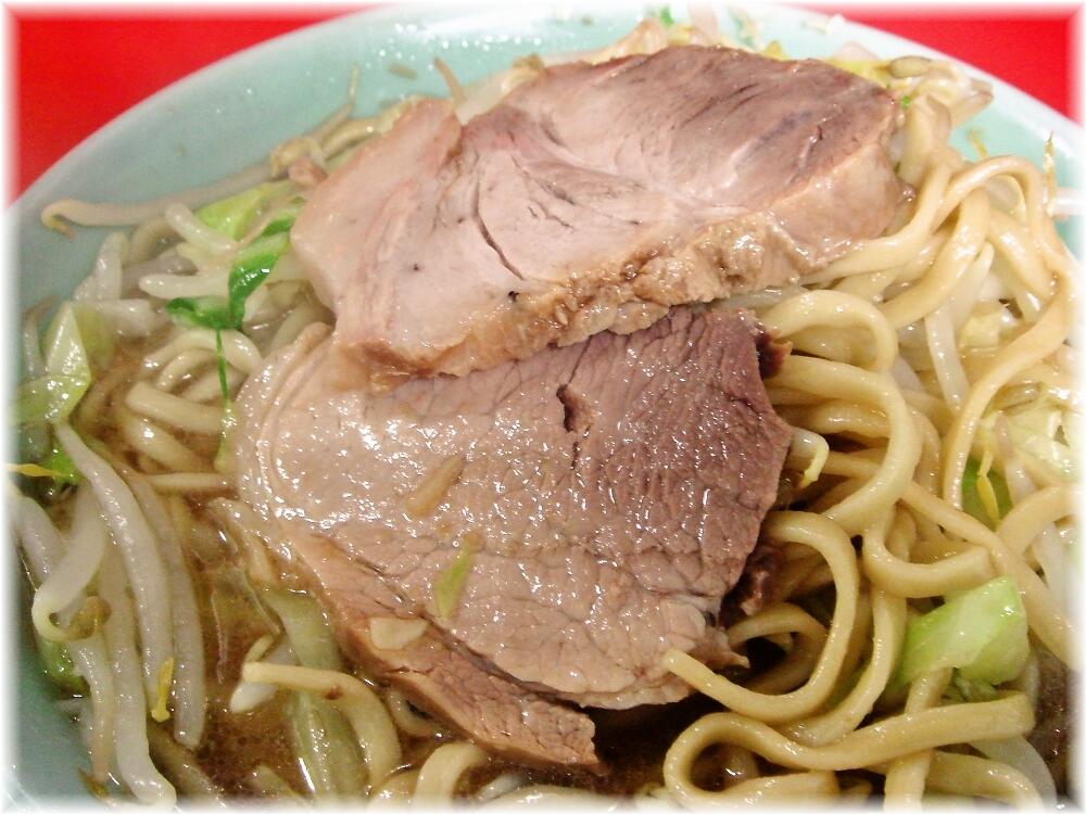 ラーメン二郎 中山駅前店 小ラーメンニンニクの豚