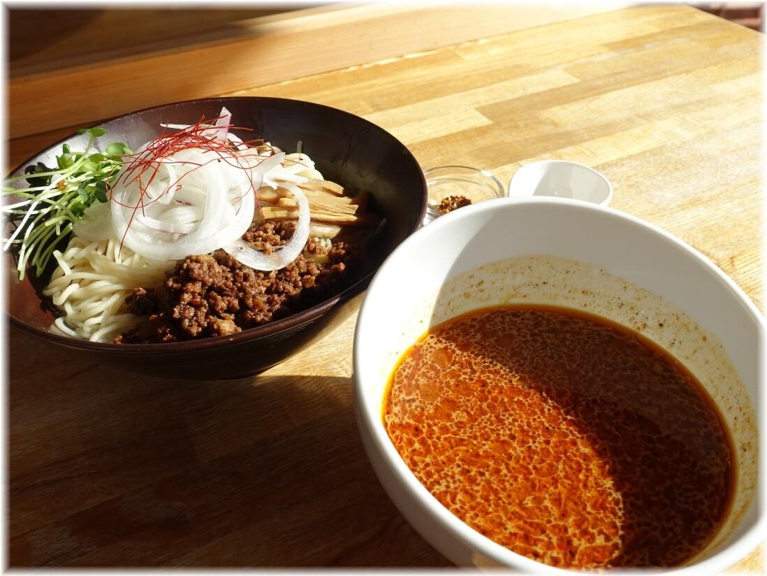 湖麺屋ReelCafe 秋のピリ辛味噌つけ麺MOMIJI
