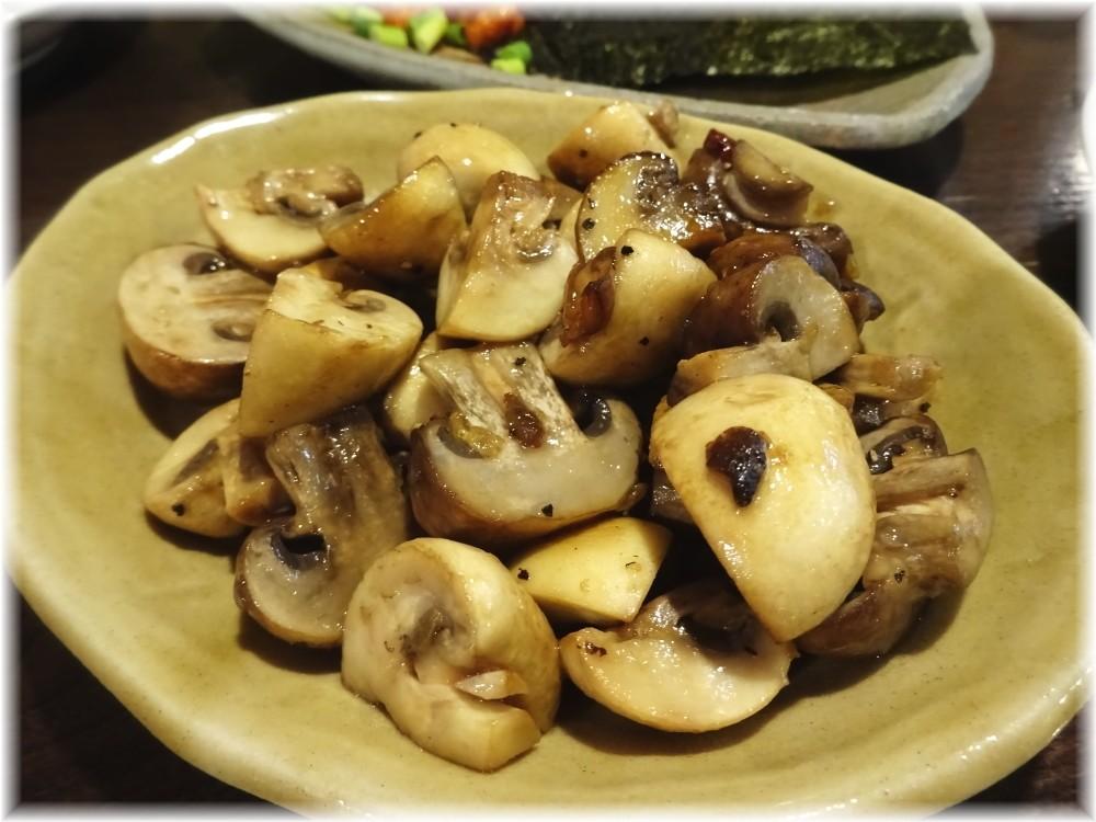 金町製麺6 マッシュルームのペペロンチーノ