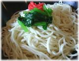 13湯麺BLACK 黒味噌つけ麺(普通)の麺