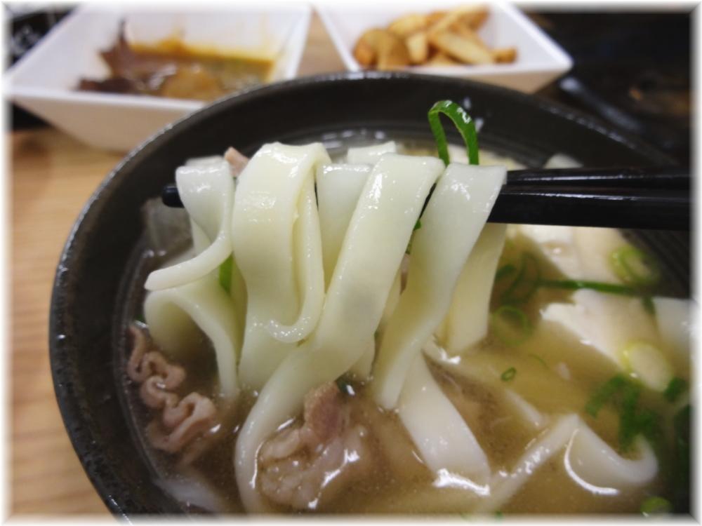 吉野家 牛すい麺の麺
