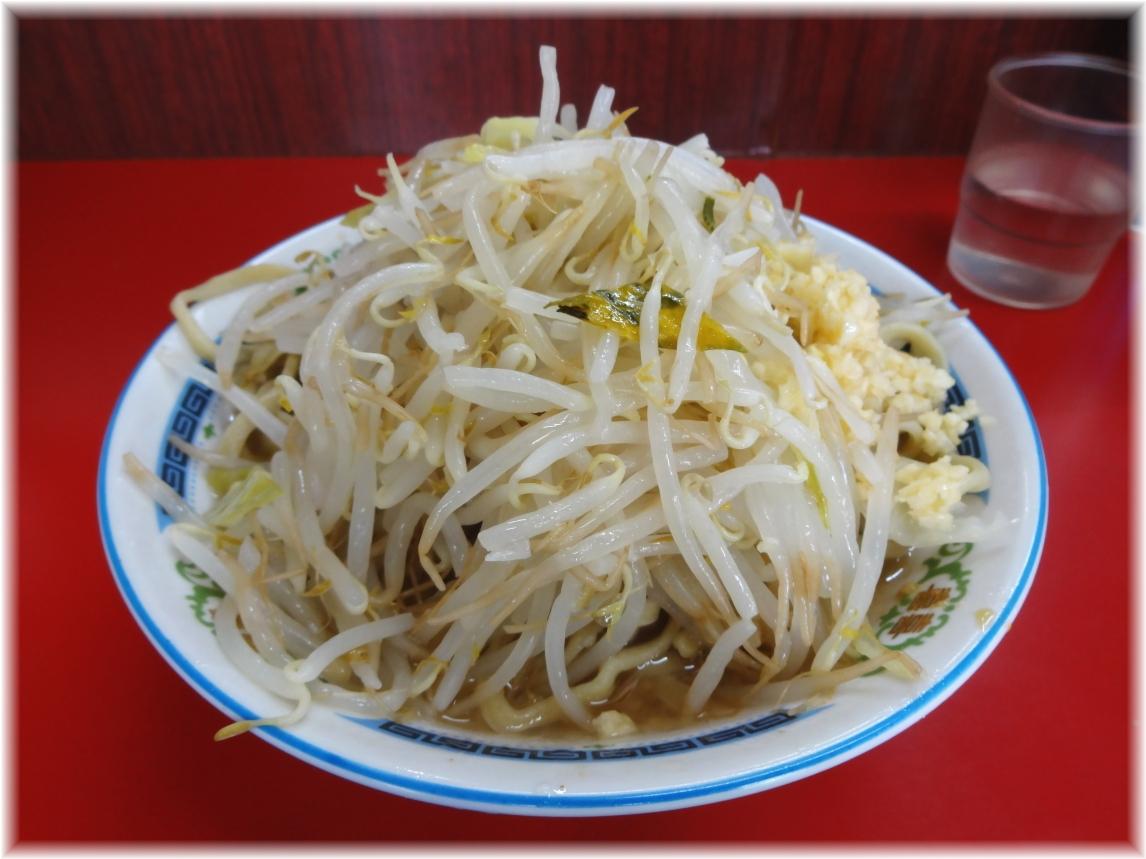 ラーメン二郎目黒店 ラーメン小(野菜・ニンニク少し)