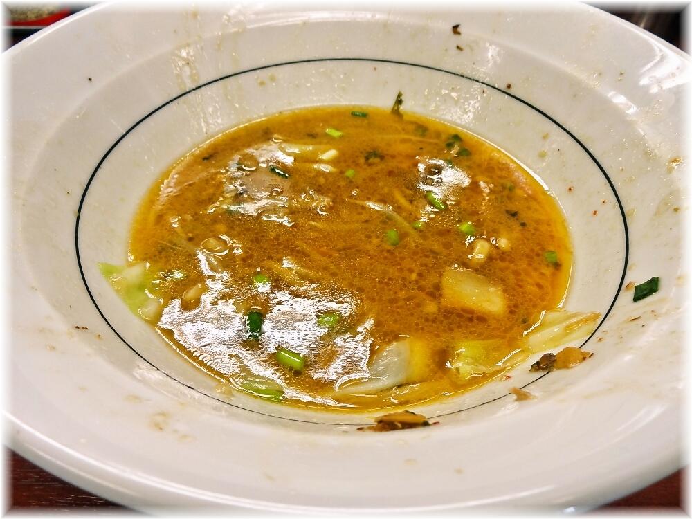ぎょうてん屋 ぎ郎汁なしのスープ