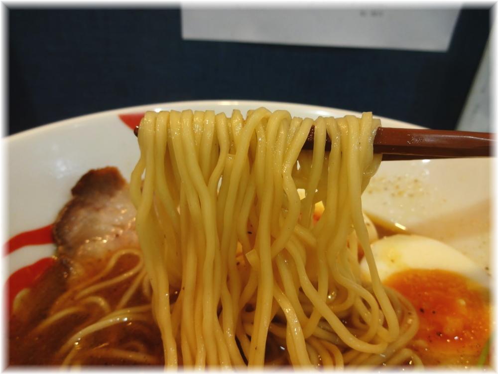 麺巧潮 にほんいち醤油そばの麺