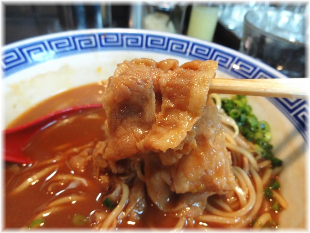 中華そばJAC JACそばの薄切り肉