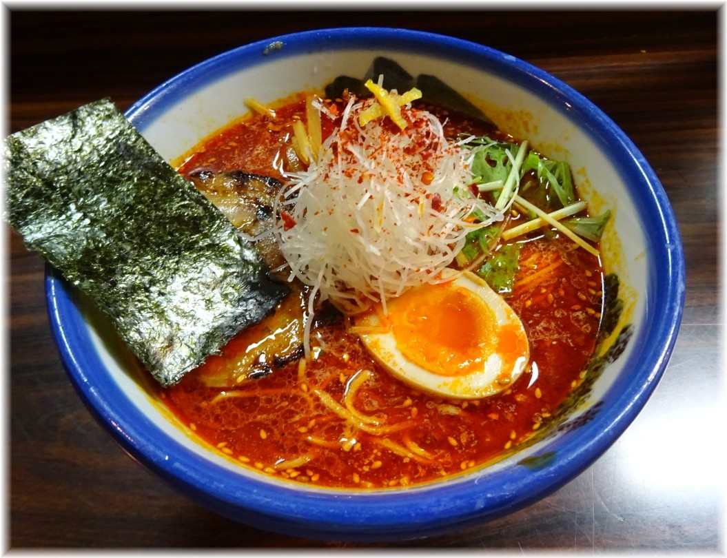 AFURI4 柚子辣湯麺