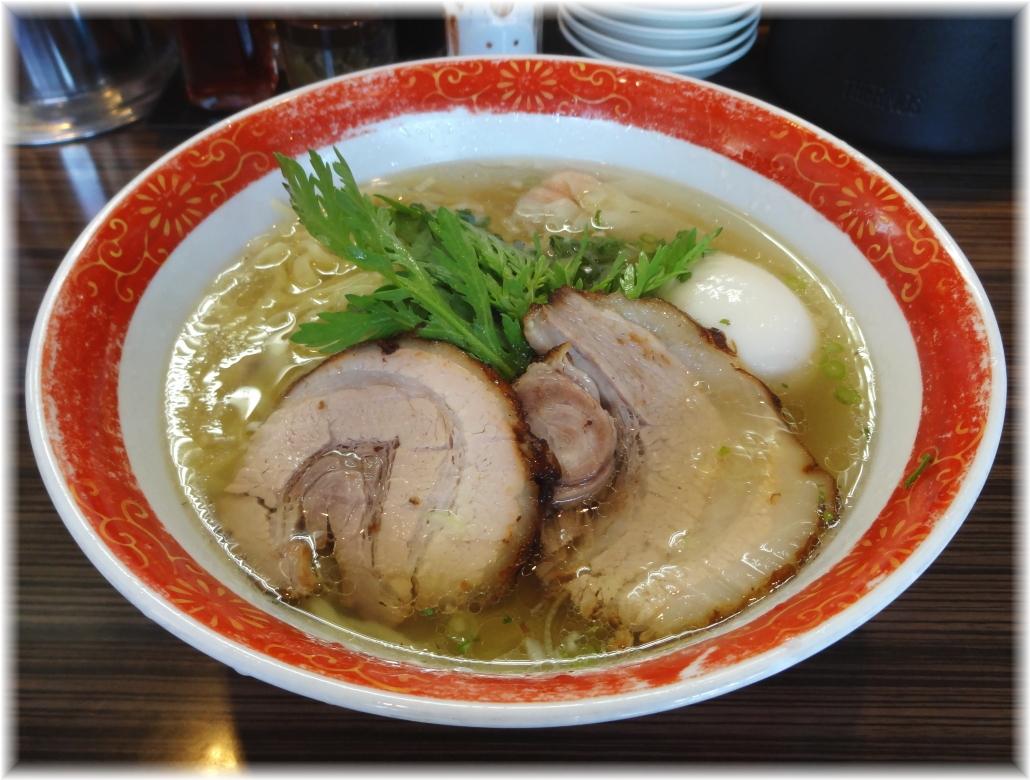 厚木本丸亭 本丸塩らー麺+塩味玉