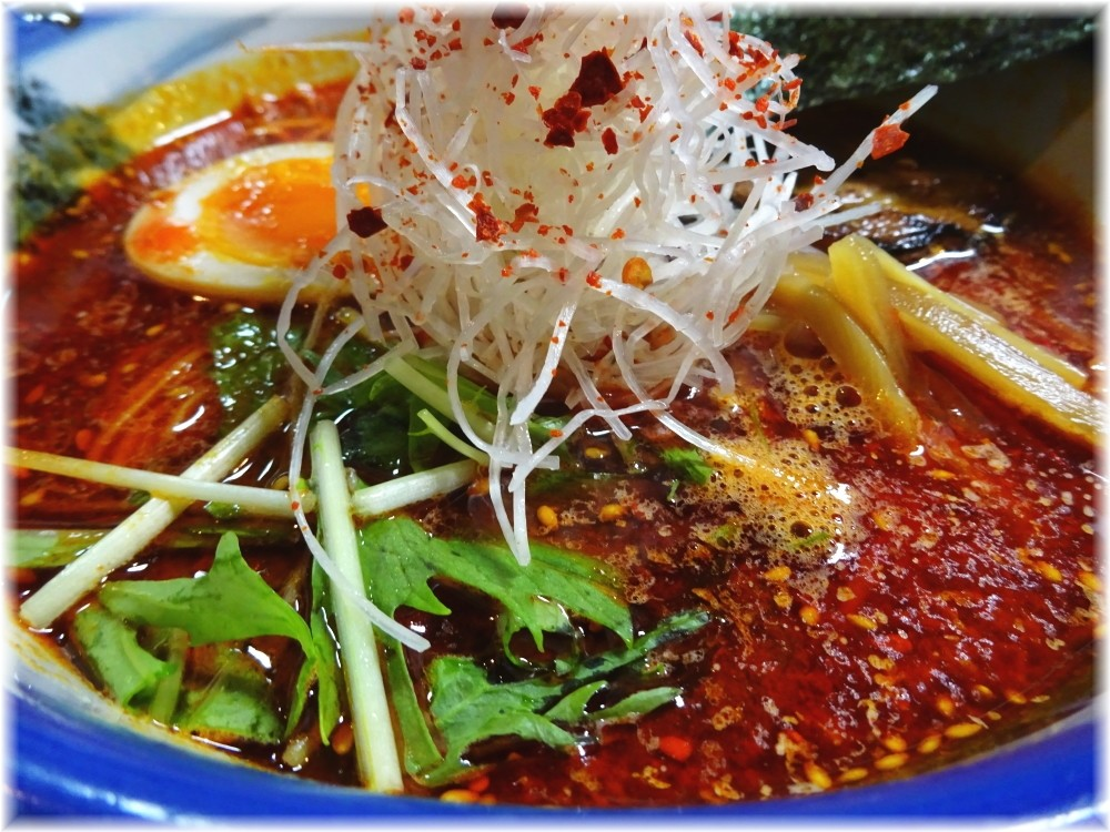 AFURI4 柚子辣湯麺の具